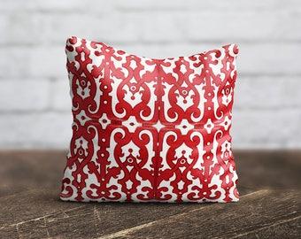 Morocco Pillow Cover Cushion Design PillowCase Modern Throw Pillow Cover Red Pattern Pillow Decorative Silk Pillow Satin Pillow Luxury Decor