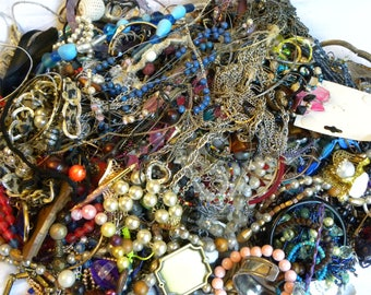 Huge jewelry lot, 9+ lbs jewelry lot, destash jewelry lot, jewelry lot, vintage to now jewelry lot, jewelry lot lbs