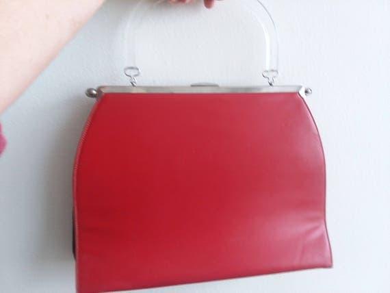 Red, White, Black 3-Way Bag
