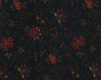 Gooseberry Lane Black Floral by Kansas Trouble from Moda by the yard