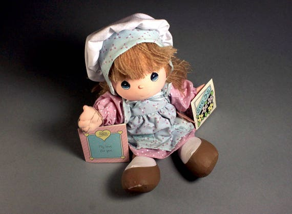 Precious Moments Doll, Applause, Friendship Line, 1988 Collectible, Doll With Tags