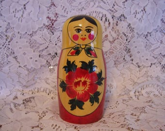 Russian Counting Doll/Mother and Ten Babies Matryoshka Babushka