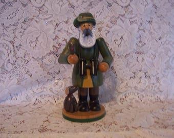 Old Man Smoker Incense Burner Figurine EM Merck Collection
