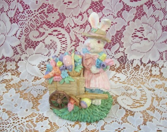 Three Assorted Easter Bunny Figurines