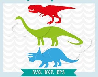 Dinosaur svg. Diplodocus SVG. Tiranosaurus svg. Triceratops svg. Cutting files. Cutting machines. Dinosaur clip art, Svg, dxf, png , eps