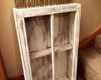 ON SALE Vintage Medicine Cabinet   Old Medicine Cabinet   Shabby Cabinet    Shadow Box Cabinet