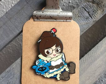 Overwatch Mei Limited Edition 100 Pin