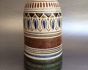 """7"""" Signed Studio Art Pottery Vase  Vintage"""