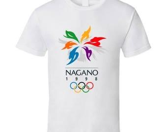 Nagano 1998 Winter Olympics T Shirt