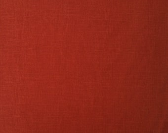 Japanese import New indigo colored cotton quilting fabric - variegated red-orange