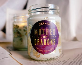 Mother of Dragons | Game of Thrones Khaleesi candle