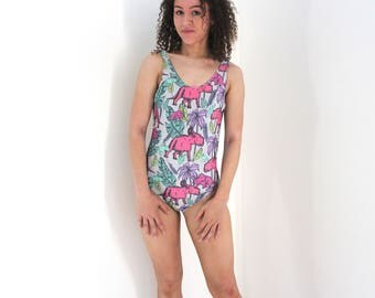 Triceratops all over print Swimsuit