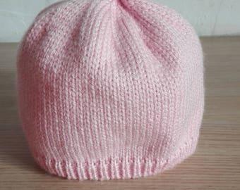 bonnet Pixie baby 0/3 months