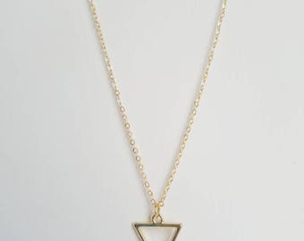 Triangle Necklace | Dainty Necklace