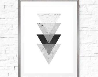 Scandinavian decor, Geometric print, Scandinavian poster, Modern minimalist, Geometric art, Modern art, Boho wall art, Nordic wall art
