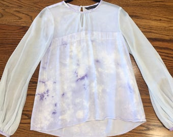 Hand tiedyed blouse