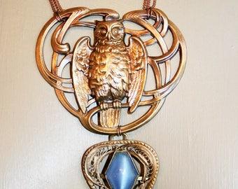 Art nouveau necklace - ATHENA