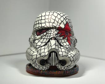 Peashooter Custom Designed Storm Trooper Helmet