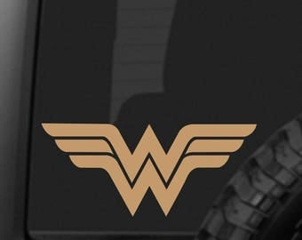 OLD STYLE Wonder Woman Decal Sticker for Car Truck Laptop