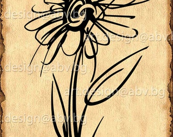 Vector FLOWER, AI, eps, pdf, svg, dxf, png, jpg Download files, Digital, graphical, discount coupons