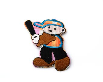Applique badge patch Thermo bear