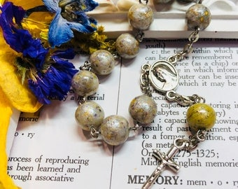 Memory Jewelry Rosaries Amp Keepsakes By Relicsinresin On Etsy