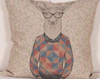 FERNAND deer pillow cover