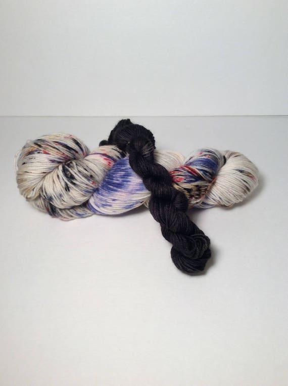 Hand dyed sock set