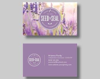 Young Living Essential Oils Business Card (Stamp) - Digital Design