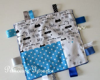 Birth * blanket labels, Montessori, cotton My Little Hero