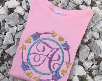Personalized Arrow Shirt