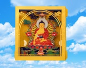 Buddha pop up 3d cards Greeting Cards Buddhism Gift for her Yoga Gifts Spiritual gifts Buddhist gift for him Meditation Yoga Studio gifts