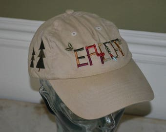 Retro EPCOT Flower and Garden Adjustable Baseball Cap Hat (One Size Fits All)