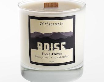 Olfactorie Candle Boise 10 oz
