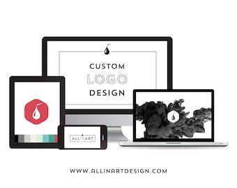 Custom PROFESSIONAL LOGO DESIGN, branding, graphic design.