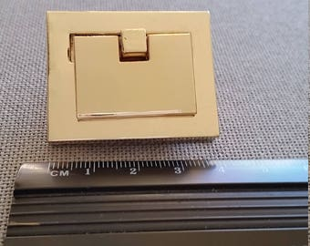 Square purse clasp  45mm x 27mm