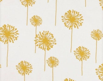 SALE Girls room curtains Nursery drapery panels Window curtains Dandelion Yellow white curtains 25W one pair, custom drapery, custom panels