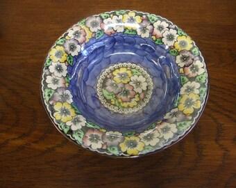 Maling Garland in Blue Pattern Bowl