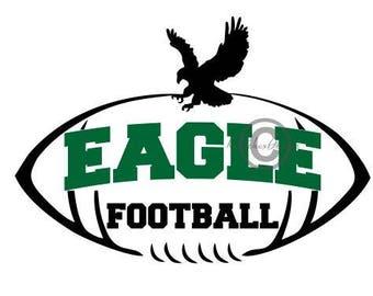Eagle Football Svg, Eagle Dxf, Football Svg