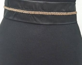 Belt for evening dress. Wedding belt. Lace. Crystals, Applique from lace