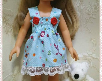 Paola Queen doll, Corolle Les Cheries, Lesly, Miyo, Arias and other 13 or 14 inch dolls dresses