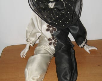Vintage Collection Doll. Fabric and Porcelain.