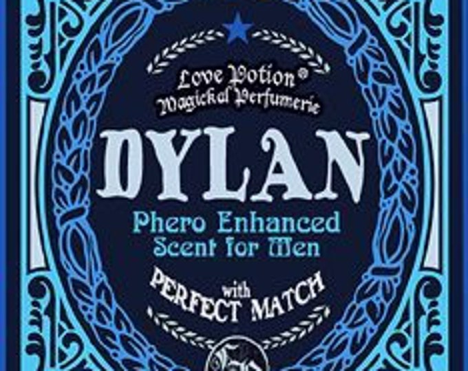 Dylan w/ Perfect Match & Hedione - Pheromone Enhanced Fragrance for Men / Unisex - Love Potion Magickal Perfumerie