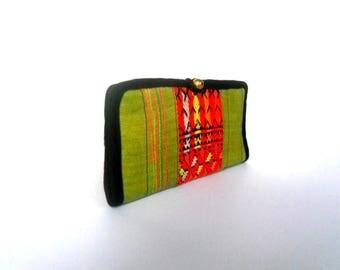 Boho Wallet, Bohemian Wallet, Women Wallet, Hippie Wallet, Ethnic Wallet, Boho Purse, Hmong Purse, Ethnic Purse, bohemian Gift Wallet