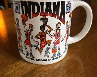 Vintage Indiana University Coffee Mug