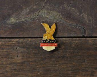 RARE Vintage Harley Davidson Lapel Pin