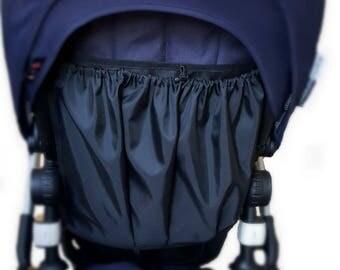 Bugaboo storage, stroller bag, Bugaboo, Buaboo Cameleon, Bugaboo Bee storage bag, wet bag, water resistant stroller bag,