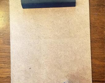 Custom Engraved Mini Clipboard