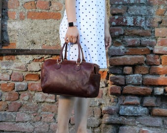Leather bag,Leather tote bag ,leather woman bag,leather work bag,leather tote,shoulder bag,handmade leather bag ,brown leather bag