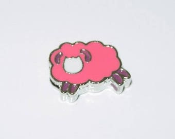 Pink sheep Pearl Leather Bracelet